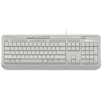 Teclado Microsoft 600 Blanco