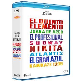 Pack Luc Besson - 8 Películas - Blu-Ray