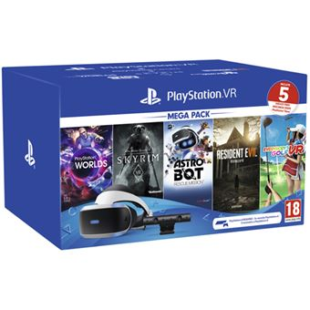 Gafas Playstation PS VR MK4 + VR Mega2 Voucher (descarga) PS4