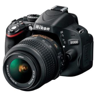 Nikon D5100 + 18-55 Kit(Libro + Mochila + Tarjeta SD 8GB) Cámara Réflex Digital