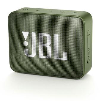 Altavoz Bluetooth JBL GO 2 Verde Musgo