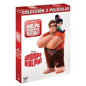 Pack Rompe Ralph 1 y 2 - DVD