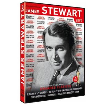 Pack Grandes Clásicos James Stewart - DVD