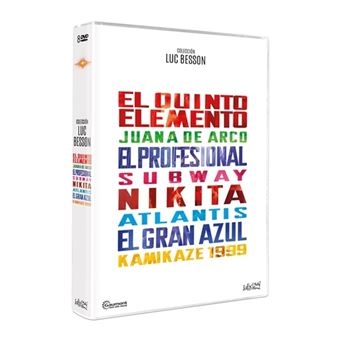 Pack Luc Besson - 8 Películas - DVD