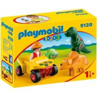 Playmobil 123 Quad 2 dinos