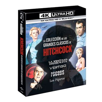 Pack Alfred Hitchcock Classic - UHD + Blu-ray