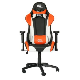 Silla gaming 1337 industries gc777 naranja negro for Rebajas sillas gaming