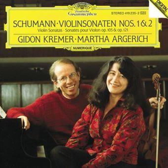 Sonatas de violín y piano Nº 1 y 2