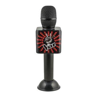 Micrófono Oficial La Voz negro