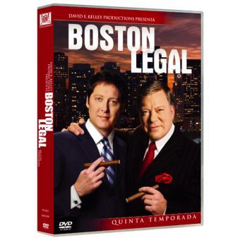 Boston Legal  Temporada 5 - DVD