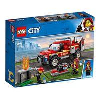 LEGO City Town 60231 Camión de Intervención de la Jefa de Bomberos