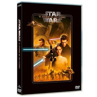 Star Wars Episodio II El ataque de los clones - DVD