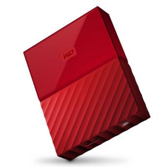 "Disco duro externo WD My Passport 4 TB 2.5"" rojo"