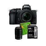 Cámara EVIL Nikon Z50 + 16-50mm VR + 50-250 mm DX VR Kit