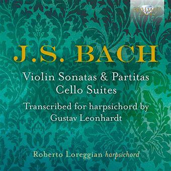 Bach - Violin Sonatas & Partitas, Cello Suites - 3 CD