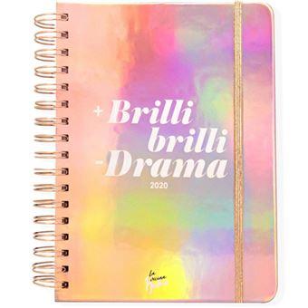 Agenda anual 2020 Día por página La Vecina Rubia - +Brillibrilli -Dramas