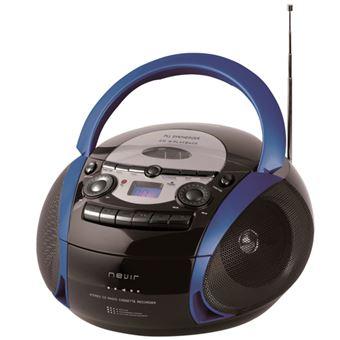 Radiocasette Nevir NVR-482UCM Azul