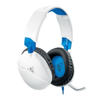 Auriculares gaming Turtle Beach Recon 70 Blanco para PS4 Pro y PS4
