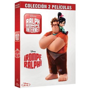 Pack Rompe Ralph 1 y 2 - Blu-Ray
