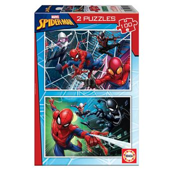 Puzzles Educa - Spiderman 2 x 100 piezas