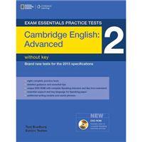 Exam Essentials - Cambridge Advanced Practice Tests 2 Without Key + DVDROM