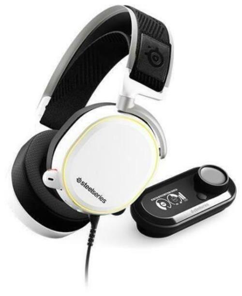 Headset gaming Steelseries Arctis Pro + GameDAC Blanco