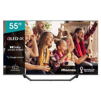 TV QLED 55'' Hisense 55A7GQ 4K UHD HDR Smart TV