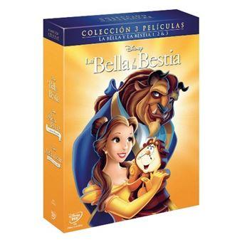 Pack Clásicos Disney - Trilogía La bella y la bestia - DVD