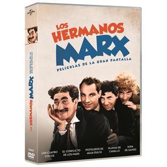 Pack Los Hermanos Marx 5 películas + Libreto - DVD