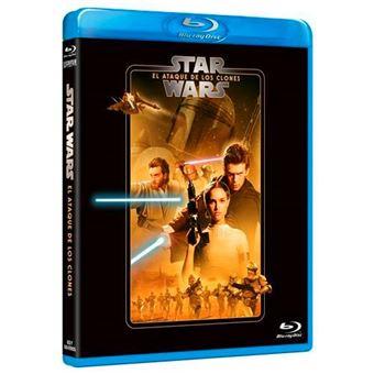Star Wars Episodio II El ataque de los clones - Blu-ray