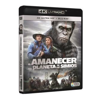 El amanecer del planeta de los simios - UHD + Blu-Ray