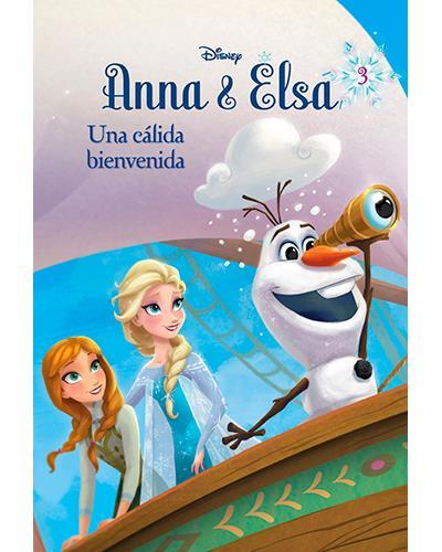 Frozen. Anna y Elsa. Una cálida bienvenida