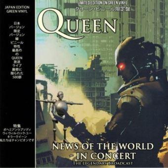 News of The World in Concert - Vinilo verde