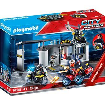Playmobil City Action Comisaría fuerzas especiales - Maletín