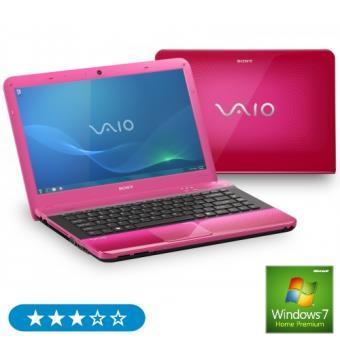 "Sony Vaio EA3S1E/P color rosa Portátil 14"""