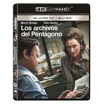 Los archivos del Pentágono - UHD + Blu-Ray