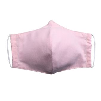 Mascarilla para adulto World Alive higiénica lavable eco Basics rosa