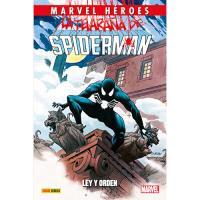 La Telaraña de Spiderman 1: Ley y orden. Marevel Héroes 77