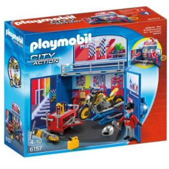 Playmobil City Action Cofre Taller motos