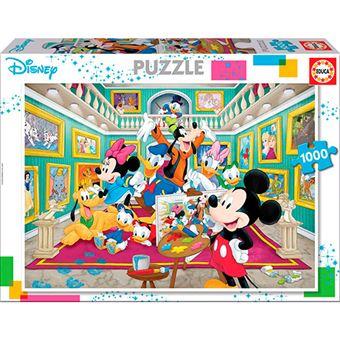 Puzzle Galería de arte Mickey Educa