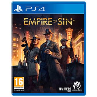 Empire Of Sin Day One PS4