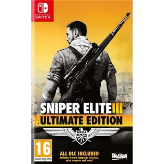Sniper Elite III - Ultimate Edition - Nintendo Switch