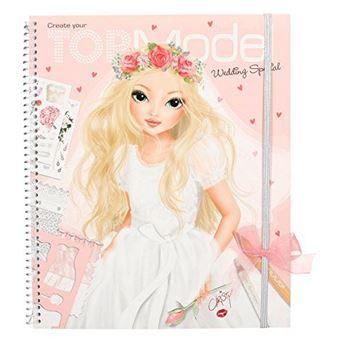 Top Model Wedding Special libro para colorear    5% en libros | FNAC
