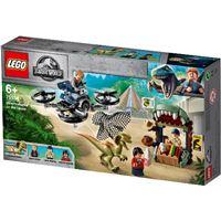 LEGO Jurassic World 75934 Dilofosaurio a la Fuga