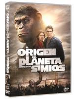 El origen del planeta de los simios - DVD