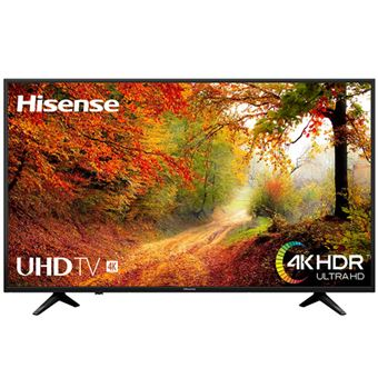 TV LED 50'' Hisense 50A6140 4K UHD HDR Smart TV