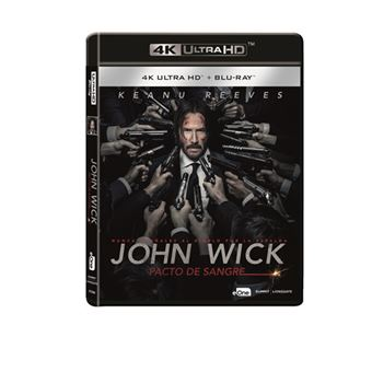John Wick 2 Pacto de sangre - UHD + Blu-Ray