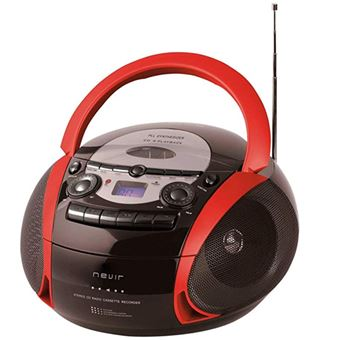 Radiocasette Nevir NVR-482UCM Rojo