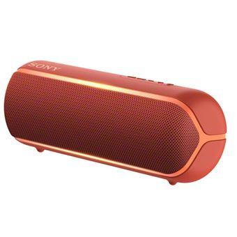 Altavoz Bluetooth NFC Sony SRS-XB22 Rojo