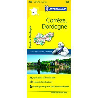 Mapa Local: Corrèze, Dordogne